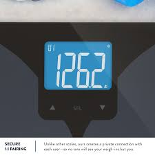 Talking Bathroom Scales Walmart by Amazon Com Bluetooth Smart Connected Body Fat Scale By Weight