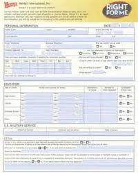 mcdonalds job application form online apply now pmi statement of