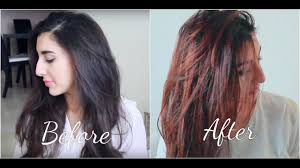 lighten you dyed black hair naturally how to dye black hair to red hair naturally at home youtube