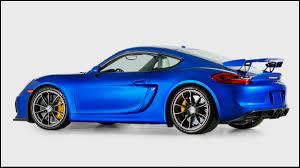 Win A 2016 Porsche Cayman Gt4
