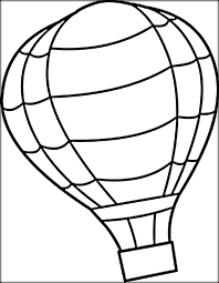 balloon coloring pages air balloon coloring pages for adults color zini