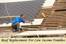 free roof replacement for low income families housing repair grants