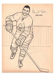 nitzy u0027s hockey den maple leafs 1964 colouring book