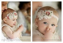 vintage headbands ivory petti lace romper and floral headband set petti