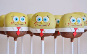 spongebob cake pops spongebob pinterest cake pop spongebob