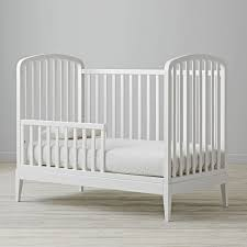 Bed Rail For Crib by Archway Convertible Crib Rail The Land Of Nod