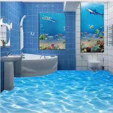 compare prices on 3d sea wallpaper bathroom online shopping buy