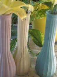 Vintage Vases Wedding Minature Glass Vases Mini Glass Vases Set Of 5 Wedding