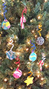 christmas crafts for kids no bake clay glitter ornaments