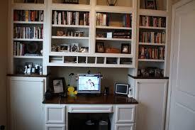 custom made built in desk u0026 bookcases by custom cabinets u0026 trim