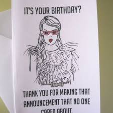 funny jokes to write in birthday cards