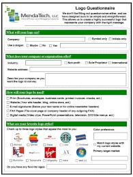 questionnaire design free logo design logo design questionnaire logo design
