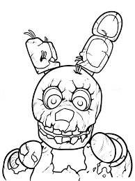 fnaf mangle coloring pages fnaf coloring pages 21 coloring pages for