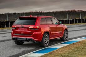 yellow jeep grand cherokee 2018 jeep grand cherokee trackhawk is the most powerful and