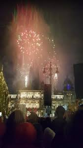 thousands attend glasgow christmas lights switch on with
