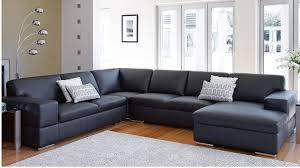 Corner Settees And Sofas St Henri Leather Corner Lounge Lounges Living Room