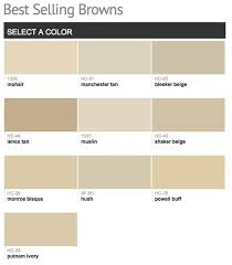 best selling u0026 popular shades of brown u0026 taupe paint colors from