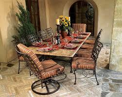 Patio Furniture Edmond Ok by Wrought Iron U0026 Steel Patio Dining Sets In Okc U0026 Edmond Ok