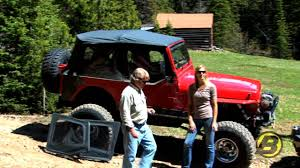 back of a jeep jeep yj doors explained youtube
