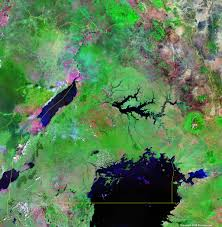 Satellite Weather Map Uganda Map And Satellite Image
