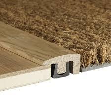 woodpecker contour solid oak end profile door threshold bar 2 7m