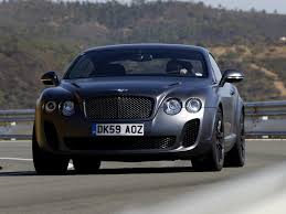 bentley 2009 continental supersports 1st generation continental gt