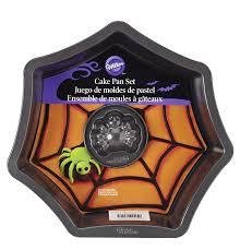 halloween cake pan amazon com wilton 2105 8920 web with spider cake pan set kitchen