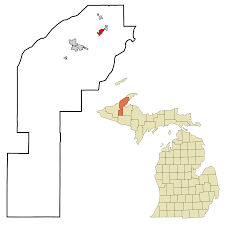 Zip Code Map Michigan by Hubbell Michigan Wikipedia