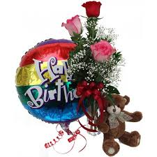 flowers and balloons flowerandballooncompany archive birthday combo
