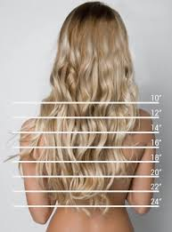 hair length chart great for when you just can t describe where