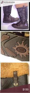 ugg shoes australia brown boots poshmark ugg australia locarno boots black leather boots ugg australia and