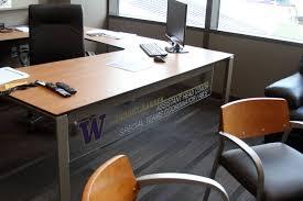 Keller Expandable Reception Desk Retake Montlake Coaches U0027 Offices University Of Washington