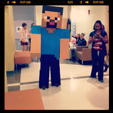 party city halloween costumes minecraft minecraft steve costume halloween pinterest steve costume