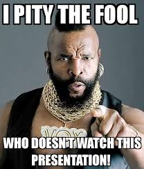 I Pity The Fool Meme - mr t pity the fool 100 images we pity the fool who isn t