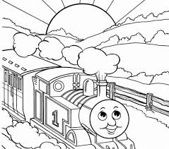 print train printable coloring pages 77 drawing train