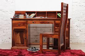 Sheesham Computer Desk Toast Writing Desk In Sheesham