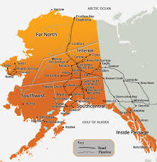 Alaska travel meaning images We are a huge state but we don 39 t have a lot of roads alaska road jpg