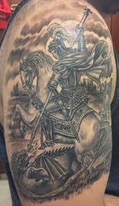 st george st george saints and tatoo