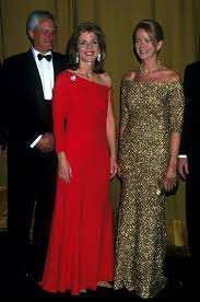Caroline Kennedy S Children Caroline Glows In This Crimson Gown As She And Her Husband