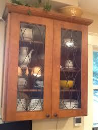 kitchen cabinet glass doors kitchen decoration
