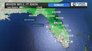 Daytona Florida Map by Much Needed Rain Moving Into Florida Uf Weather Center
