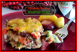 christmas morning family traditions breakfast strata recipe