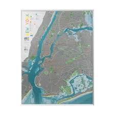 New York Street Map by New York City Street Map Version 2 Paper The Future Mapping