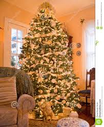 cozy christmas tree royalty free stock images image 11945519