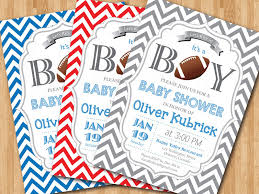 basketball baby shower football baby shower invitation baby boy chevron invites
