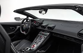Lamborghini Huracan Interior - stealth wrapping a bianco canopus huracan spyder at nw auto salon