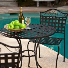 wrought iron outdoor furniture simple outdoor com