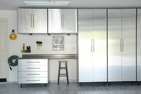 Floor To Ceiling Storage Cabinets With Doors Cabinet Chromed Garage Storage Systems For White Interior With