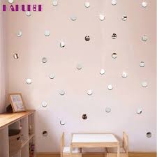 online buy wholesale round wall stickers from china round wall kakuder round acrylic mirror background wall sticker bedroom decoration u61101 drop ship china