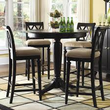 pub table height 42 camden dark 42 round counter height table by american drew for